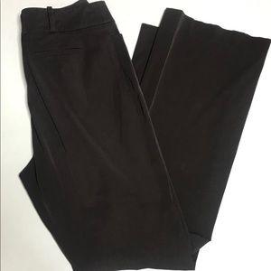 Jill Sander Brown Straight Leg Trouser